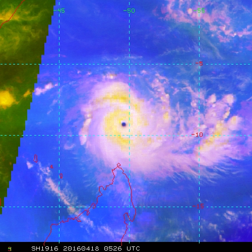 2016 Tropical Cyclone Discussions 2016SH19_MIIWVRGB_201604180526