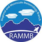 RAMMB: Regional and Mesoscale Meteorology Branch logo